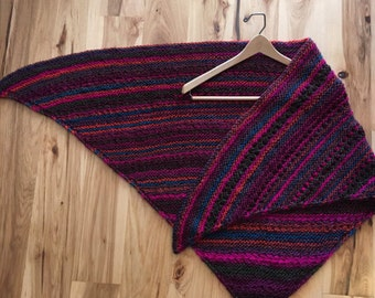 Multi color shawl/wrap