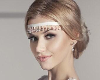 Wedding Pearl From Ukraine, Wreath,  Bridal Hair Accessory, Pearl Hair, Wedding Hair Crown, Bride HairAccessories, Hair Wreath, Wedding Hair