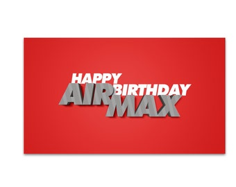 Happy Birthday Air Max (The most loved Air Max shoes ever made)