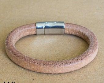 Leather Bracelet | Bracelet Natural Leather | Mens Bracelet | Womans Bracelet