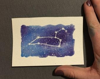 Zodiac Constellation Art: Leo
