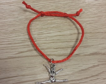 10 Pieces Gymnastics - Cheerleader Jewelry. Friendship Bracelets Party Favors
