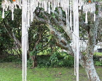 Macramé Wedding Arch