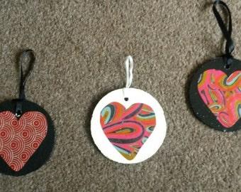 Heart wall hangings