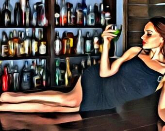 Bar beauty - Print or canvas