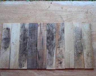 "10 Reclaimed 18"" Pallet Boards"