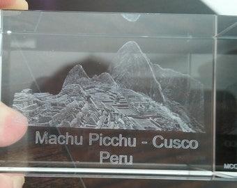 Machu Picchu Crystal in 360 degrees