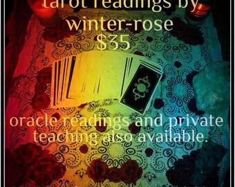 Tarot Reading by Winter-Rose