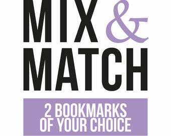 Mix and Match - 2 bookmarks