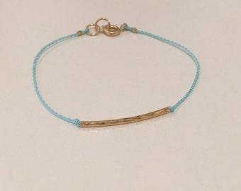 Dainty Tube Bracelet