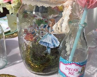 Alice in Wonderland Drink Me Labels - Printable