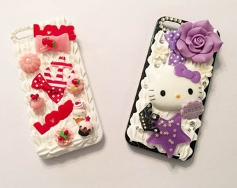 Cute Decoden IPhone 5/5s Case - Kawaii Decoden Phone Case - Ready to Ship