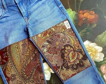 Custom BOHO Jeans - Jasmine Style