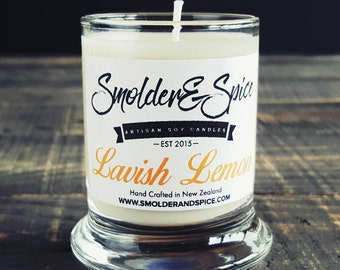 Lavish Lemon Soy Wax Candle