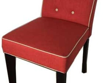 Feature Red Chair