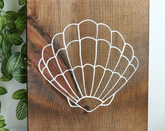 Beach Inspired Rustic Wood Sign, Cottage Decor, Home Decor
