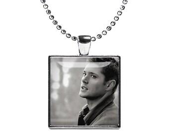 Dean Winchester Supernatural Necklace Pendant Fandom Jewelry Jensen Ackles Cosplay Fangirl Fanboy