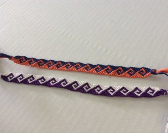 Greek Wave Friendship Bracelet - Choose Your Own Colors