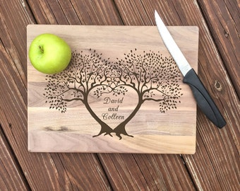 Wedding Gift, Engraved Cutting Board, Gift for Her, Gift for Bride, Gift for Couple, Wedding Gift for Couple, Anniversary Gift, Housewarming