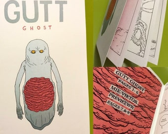 Gutt Ghost mini comic