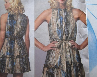 Vogue 1153 Anna Sui Dress Sewing Pattern 12-18