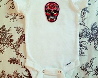Baby Skull Onesie