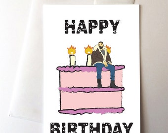 Drake Views Birthday Card