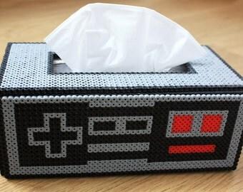 Nintendo NES Controller inspired Tissue - Kleenex Box