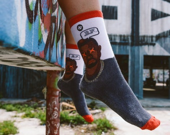 No Answers Socks inspired by Kanye West and his Sway in the Morning Interview