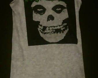 Misfits tank top, Misfits, The Misfits shirt, Danzig, Women's Rock n Roll Clothing Size M