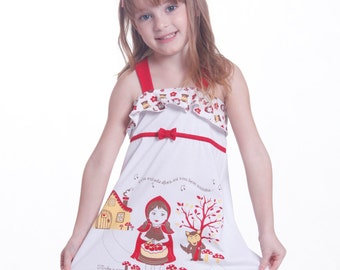 Girls' Customizable Pajama Nightgown Doce