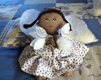 Lila Handmade Cloth Angel Doll