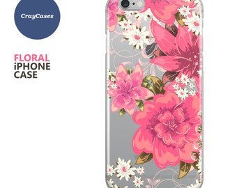 Floral iPhone 6s Case, Floral iPhone Case, Floral iPhone 7 Case, Floral iPhone 6 Case, Floral iPhone 6 Plus Case (Ships From UK)