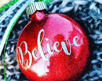 Christmas ornament,glass ornaments,glitter ornaments, Christmas ornament, Christmas decorations, holiday ornaments, holiday decor, Christmas