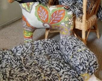 Doll Blanket Handknitted