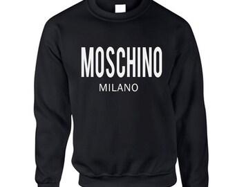 MOSCHINO MILANO Printed Sweatshirt