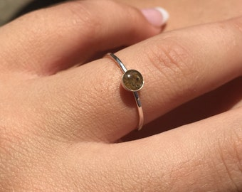 COAST Maine Sand Stackable Ring