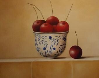 Bowl of cherries 120cmx120cm