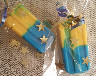 Blueberry Pineapple Popsicle Soap