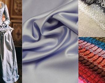 Custom Made Marie Antoinette Blue 'Arrival' Gown