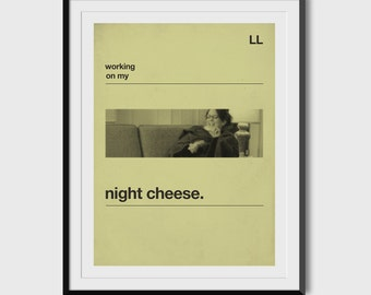 "30 Rock ""Night Cheese"" 8.5x11 Print"