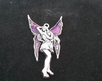 Pewter purple fairy