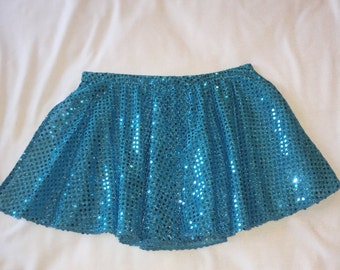 Sequined Jazz Skirts