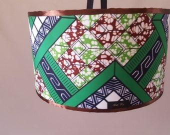 suspension en tissu africain