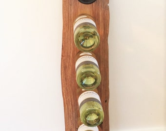 Timber Slab Wine Rack, 8 bottle capacity – Design No.3