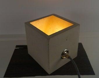 Concrete table light | Concrete lamp