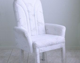 Vaporwave GIANT deco memphis milano style avant garde post modern PARSONS  arm chair THRONEVintage parsons chairs   Etsy. Parsons Arm Chair. Home Design Ideas