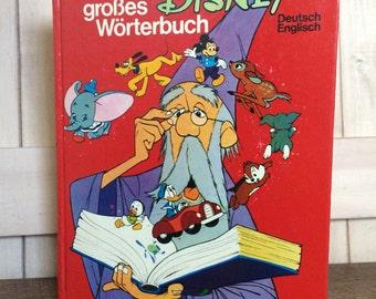 Disney German & English Word and Picture Book- Mein großes Disney-Wörterbuch