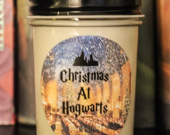 Christmas At Hogwarts 100% Soy Candle Harry Potter Inspired Candle