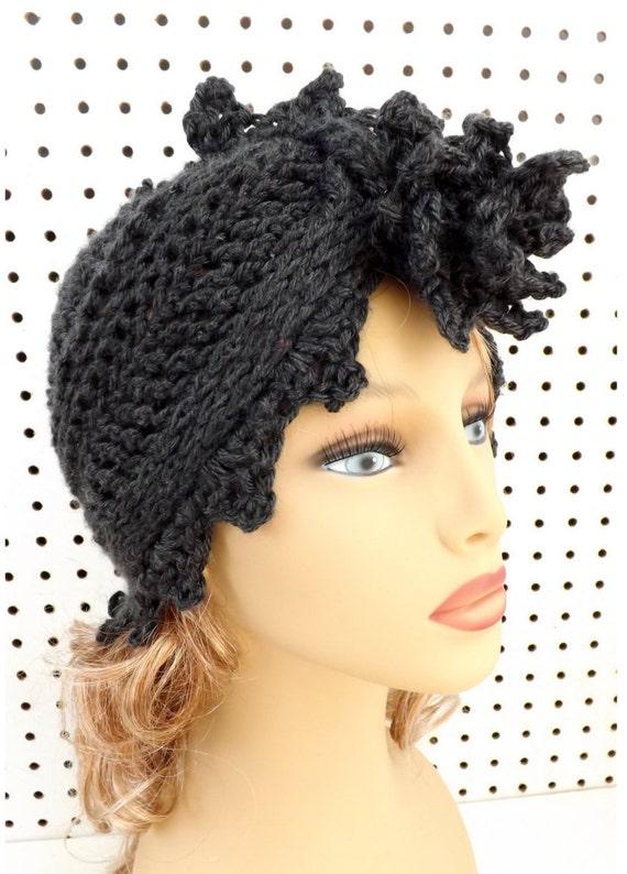 Crochet Pattern Hat, Crochet Hat Pattern, Womens Hat, Turban Pattern, Turban Hat, Fashion Turban Hat Pattern, Crochet Flower Alejandra